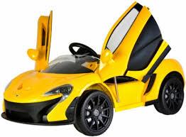 فروش عمده ماشین شارژی پسرانه زرد