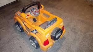 ماشین شارژی زرد
