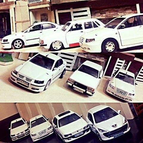 ماکت ماشین ایرانی اسپرت